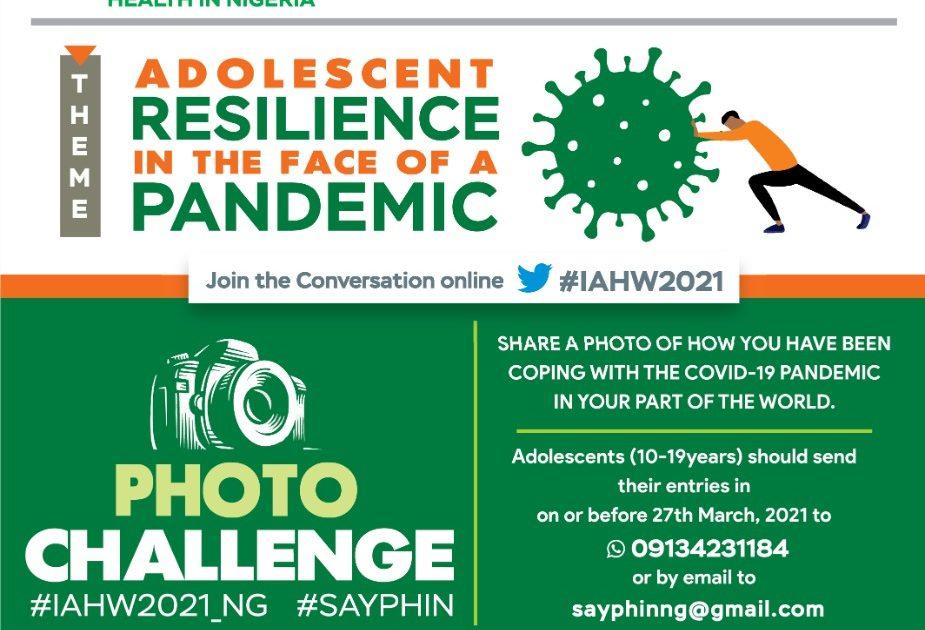 INTERNATIONAL ADOLESCENT HEALTH WEEK 2021